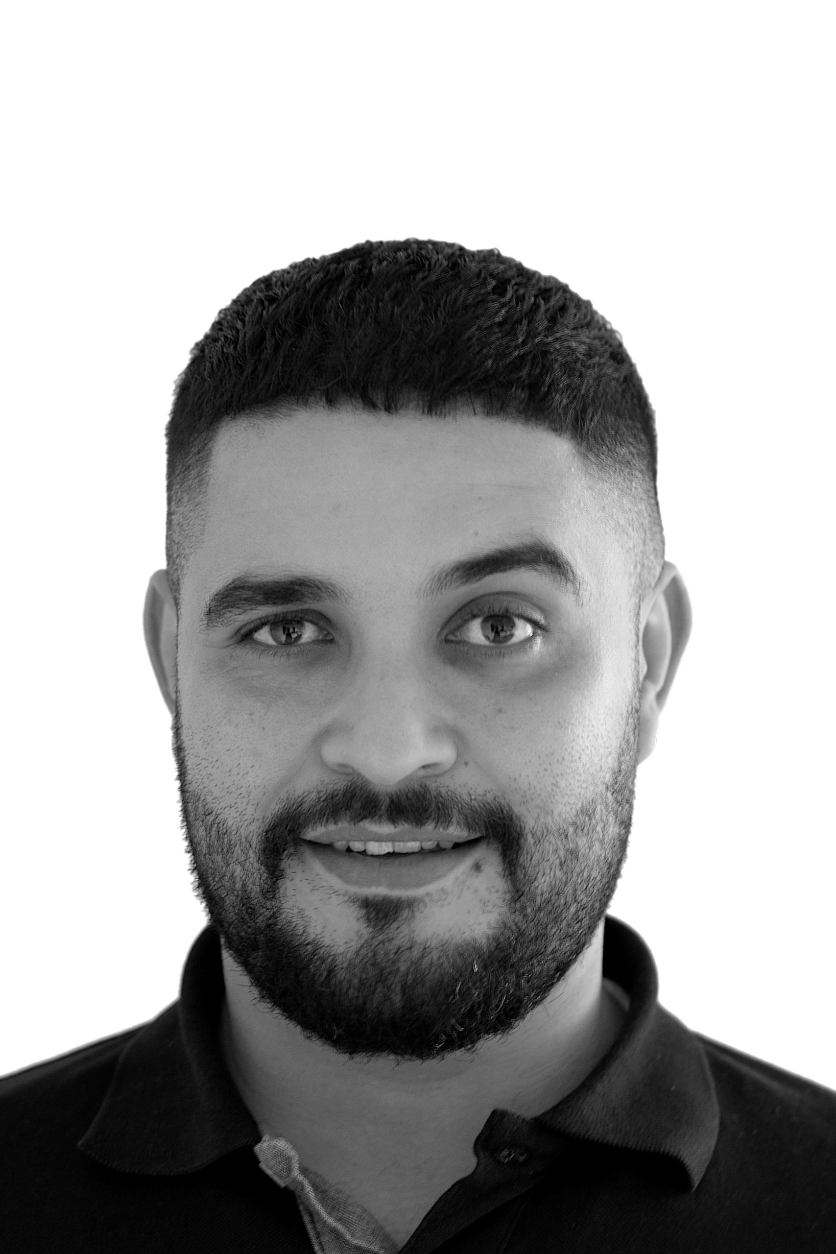 Portraitfoto von Jamal Arammach