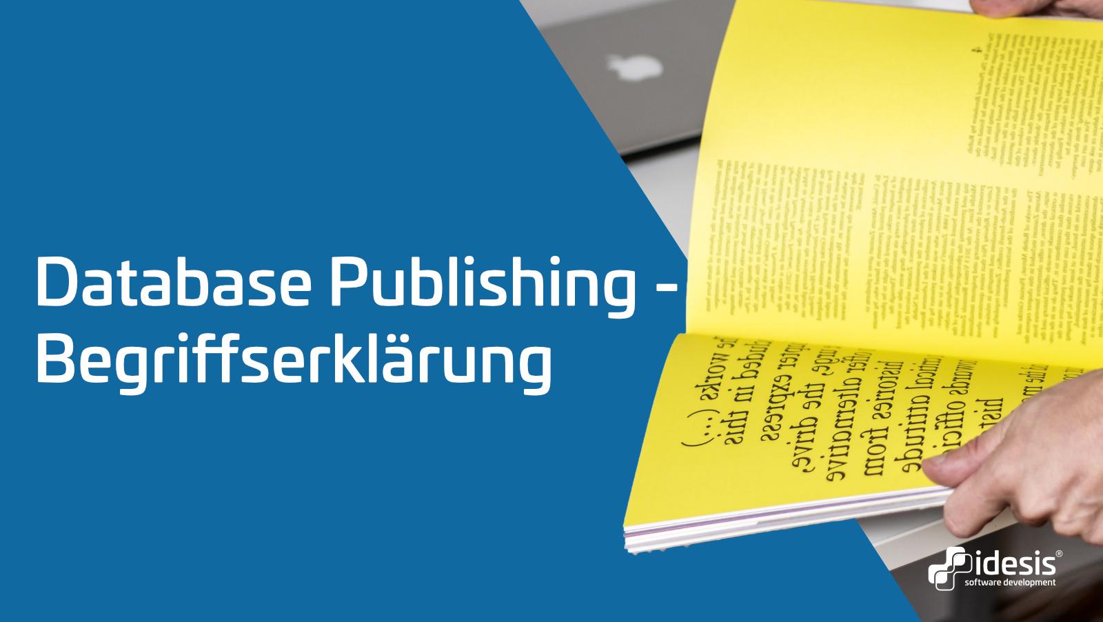 Database Publishing